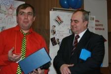 А.Бобуров и В.Песенко-торжественная часть Праймериза
