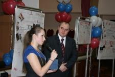 Победители праймериза - команда филиала Московского государственного университета экономики и статистики.