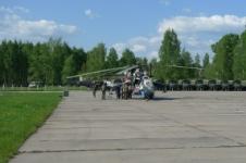 Экскурсия в Торжок - вертолётная площадка