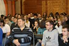 Квест-игра «Загадки губернского города», команды в ожидании...