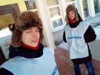 Братья Хомышины - волонтеры