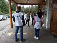 Волонтеры проекта. Оленино.