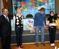 Мостовская школа из Оленинского района. Их колобок ходил голосовать