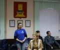 Презентация команды победительницы на церемонии награждения.